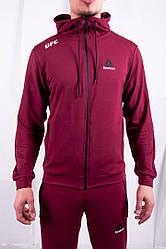 Спорт костюм Reebok мужской винный цвет