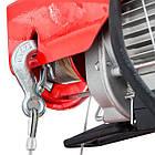 Лебедка электрическая 220/230В, 500Вт, 125/250 кг, трос 3.0мм12м INTERTOOL GT1481, фото 8