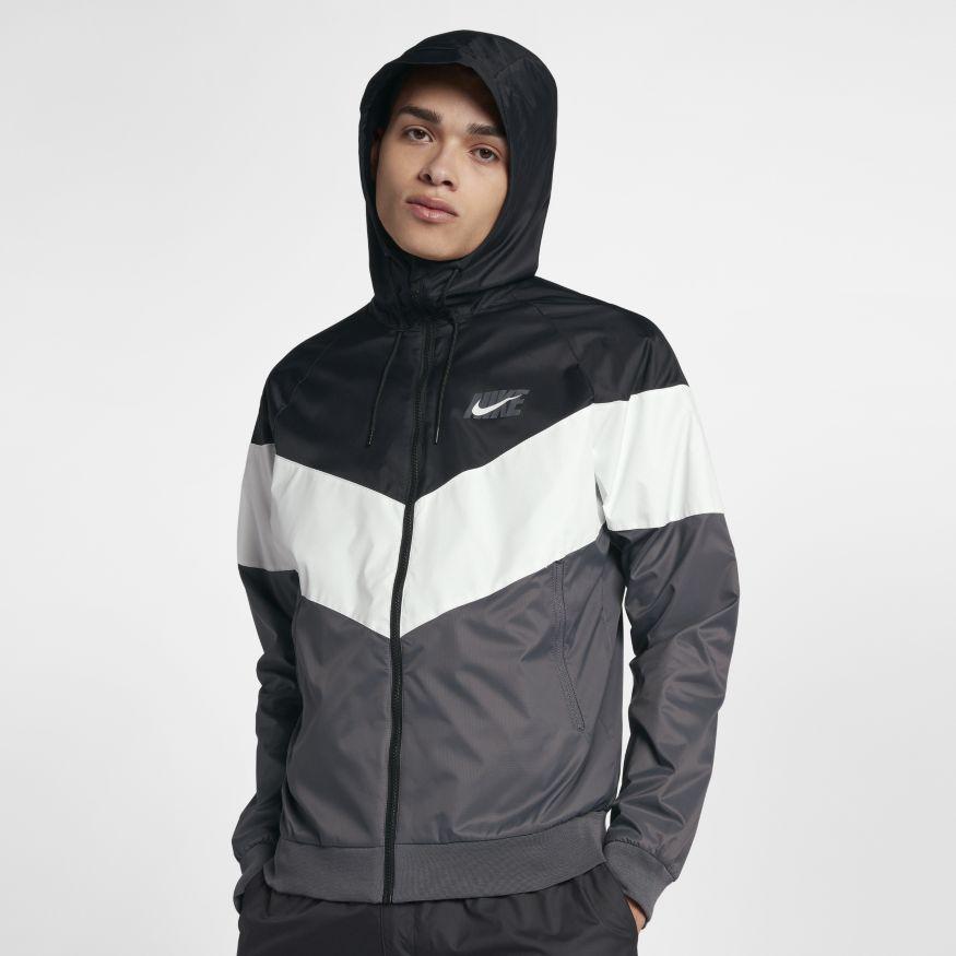 215db23c1eadc Куртка Nike Sportswear Windrunner Jacket AJ1396-010 (Оригинал) - Football  Mall - футбольный