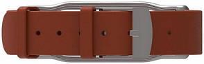 Ремінець MiJobs для Xiaomi Mi Band 2 Шкіряний Brown, фото 2