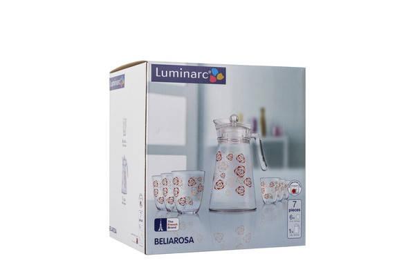 Питьевой набор LUMINARC NEO BELIAROSA 7 предметов (N0794), фото 2