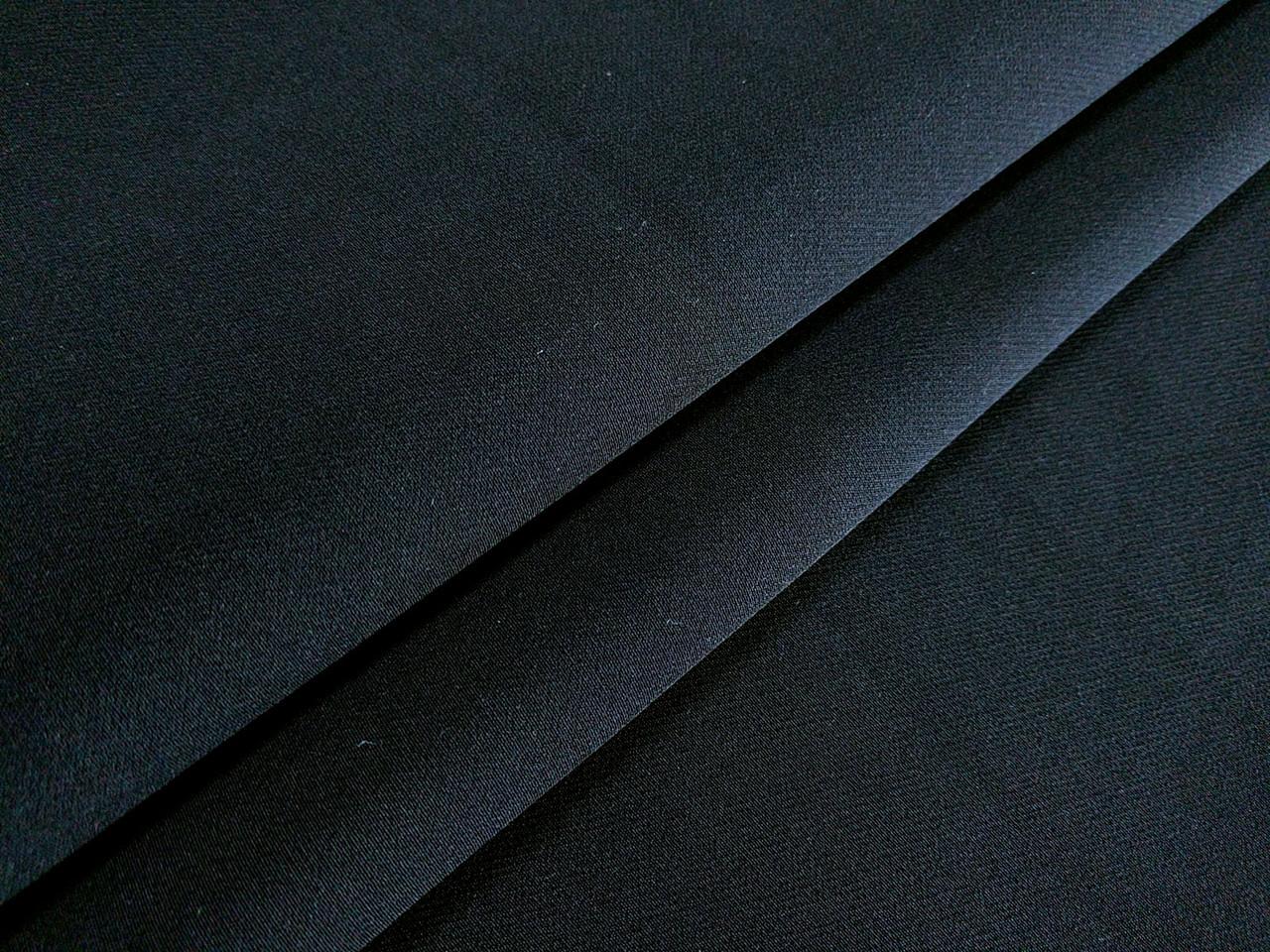 Костюмная Бианка плотная, черный