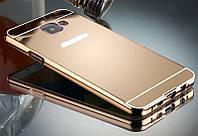Алюминиевый чехол бампер для Samsung Galaxy A5/A510 (2016 год), фото 1