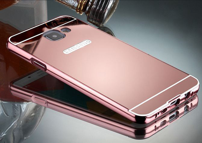 Алюминиевый чехол бампер для Samsung Galaxy A5/A510 (2016 год)
