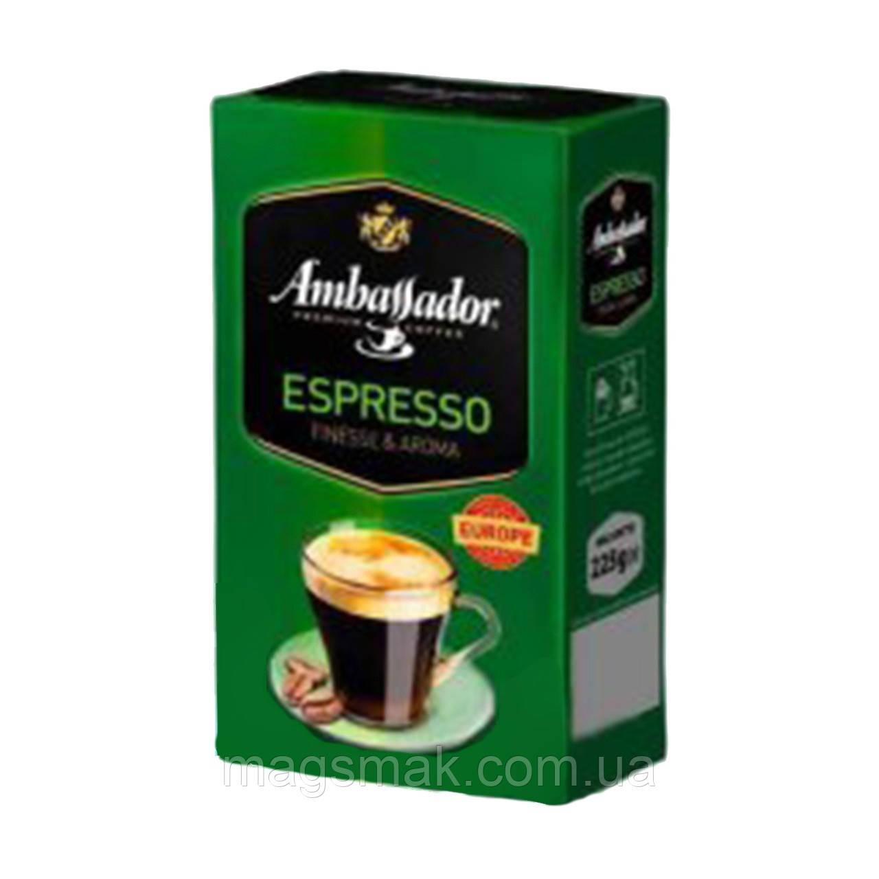 Молотый кофе Ambassador Espresso 225 г