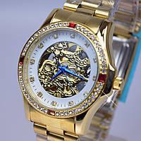 Женские механические часы с автоподзаводом Слава скелетон