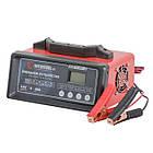 Зарядное устройство 12В, 5/10/15/20А, 230В, режим реанимации, десульфатации аккумулятора INTERTOOL AT-3021, фото 4