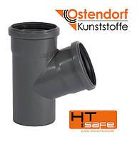 Трійник Ostendorf HT 110х50мм/45