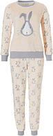 Пижама женская теплая зимняя плюшевая флис Rebelle 81182-404-2