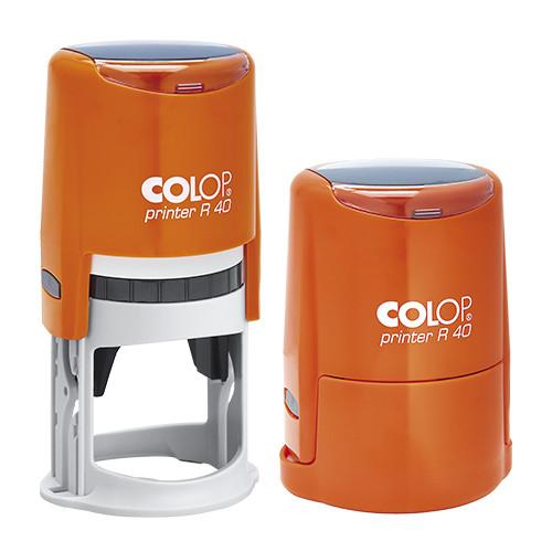 Оснастка для круглой печати Printer R40 оранжевый