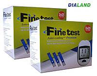 Тест-полоски Файнтест Премиум (Finetest Premium) 2 упаковки - 100 штук