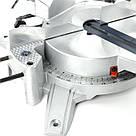 Пила торцовочная, 1800 Вт, 5500 об/мин, угол 0-45°, диск 255мм. INTERTOOL DT-0625, фото 7