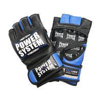 Перчатки для ММА Power System PS 5010 Katame Evo Black/Blue, фото 1