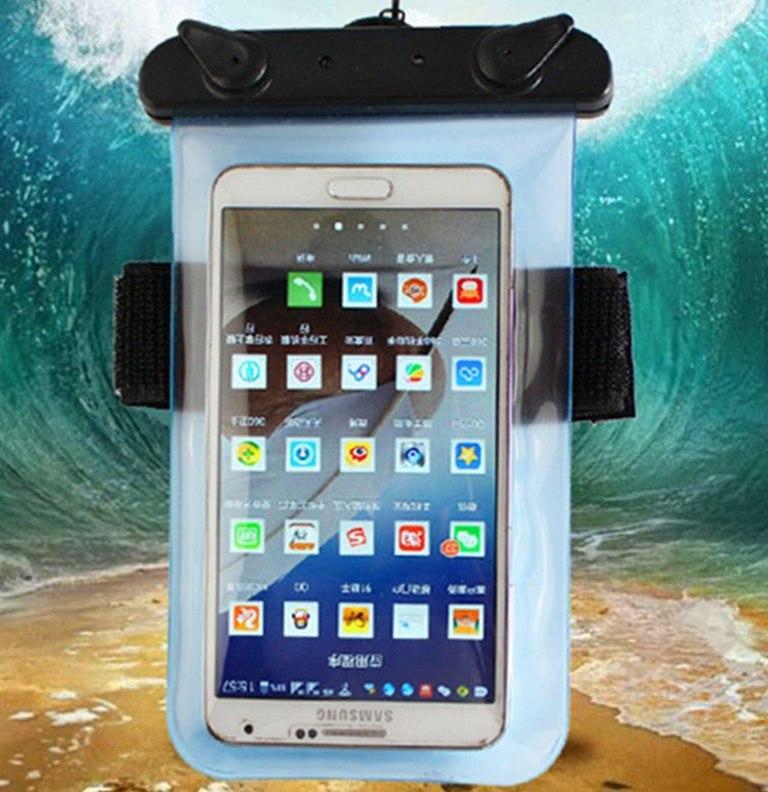 Водонепроницаемый чехол для смартфона HITORHIKE до 20м