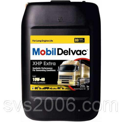 Масло моторне MOBIL DELVAC XHP EXTRA 10W-40