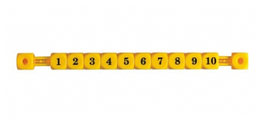 Счеты для настольного футбола Yellow