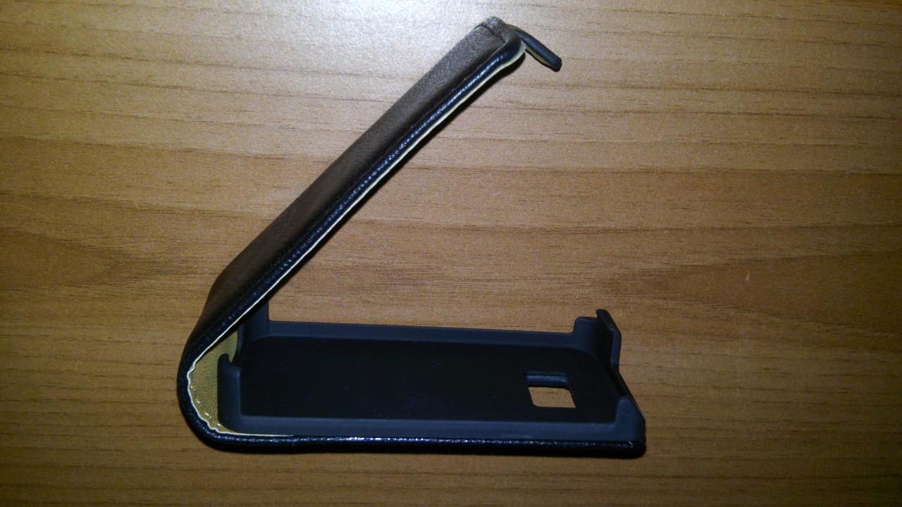 Чехол-флип для Samsung i9300 черный