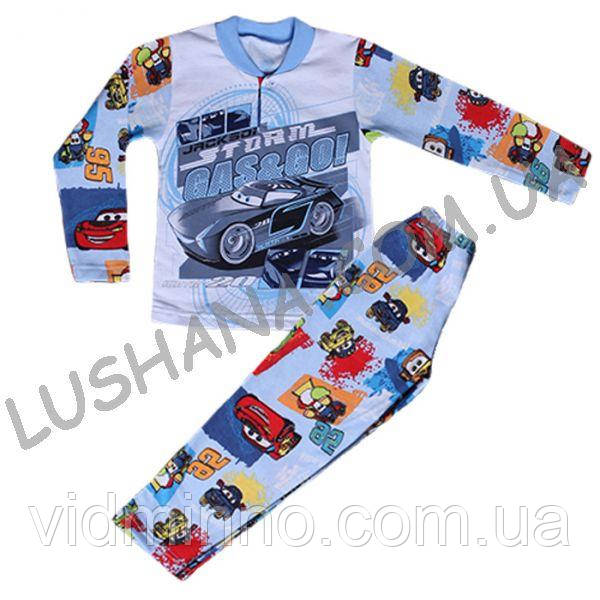 Детская пижама Тачки на рост 92-98 см