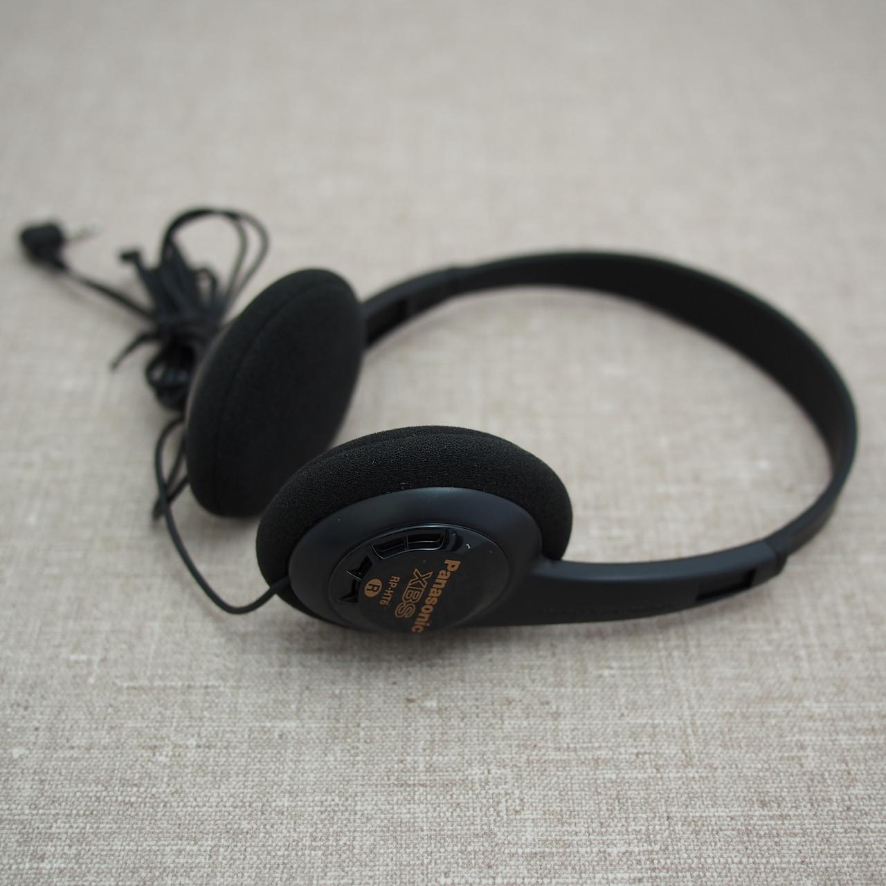 Panasonic RP-HT6E-K Lightweight black Наушники