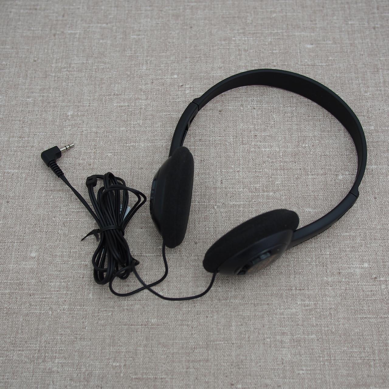 Проводные наушники и гарнитуры Panasonic RP-HT6E-K Lightweight black
