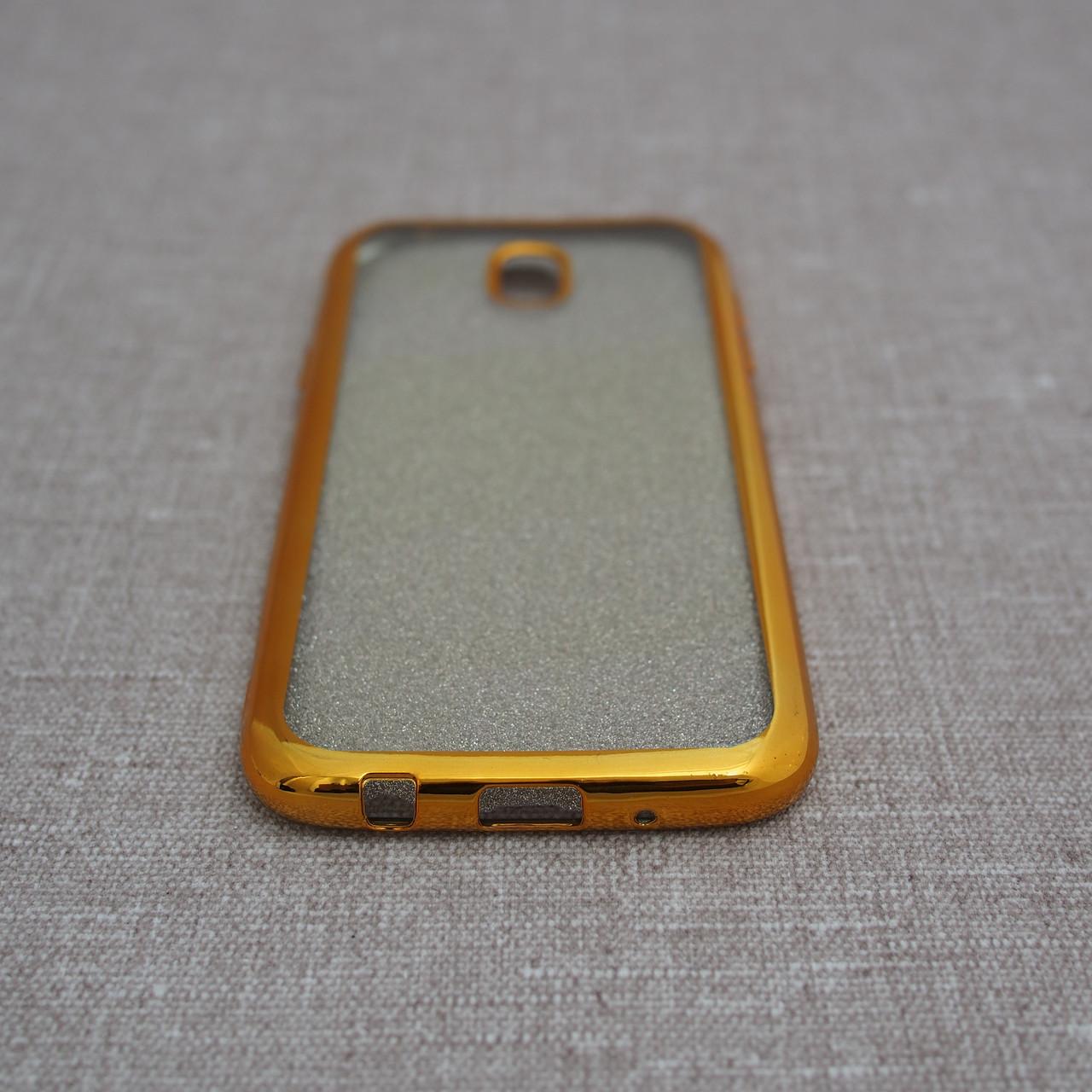 Чехлы для Samsung Galaxy J5 (2017) J530F Remax Glitter Air J530 gold (J530) 2017