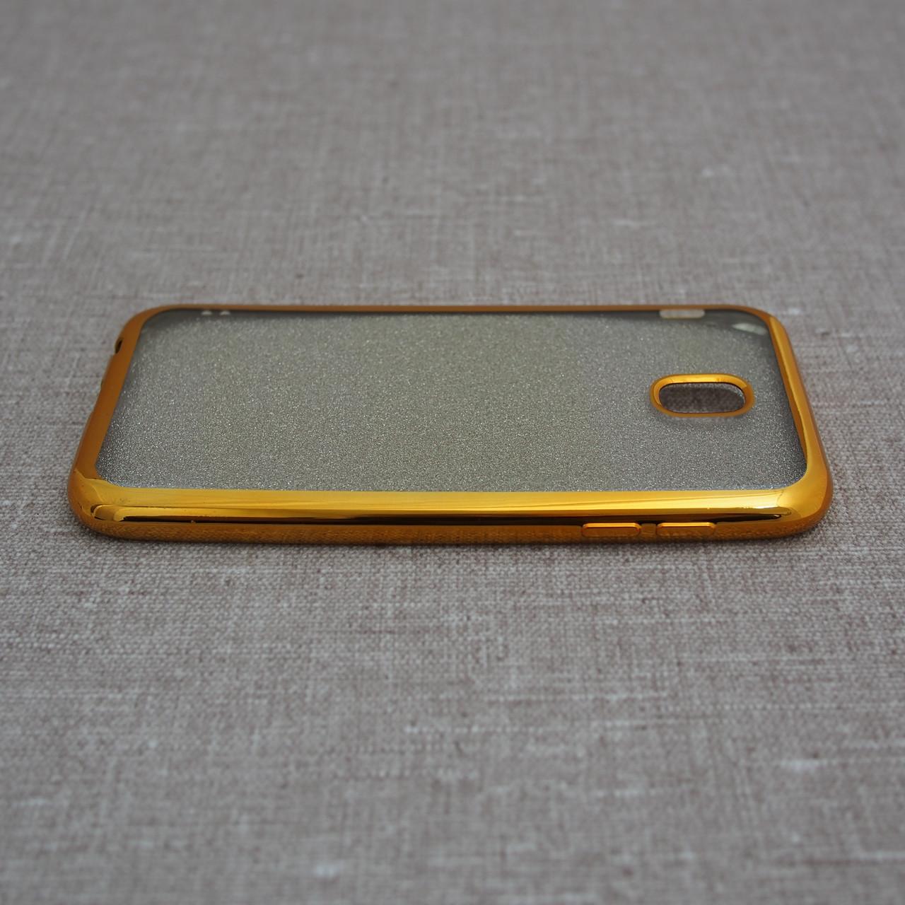 Чехлы для Samsung Galaxy J5 (2017) J530F Remax Glitter Air J530 gold (J530) 2017 Для телефона