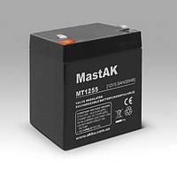 Герметичный свинцово-кислотный аккумулятор MastAK MT1255 12V  5,5Ah