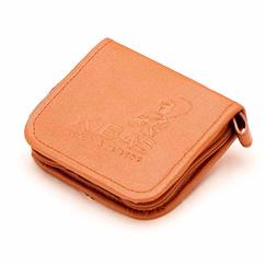 Кошелек для блесен KIBAS из экокожи S Оранжевый (KS5014)