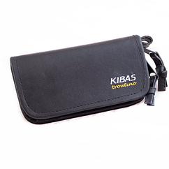 Кошелек для блесен KIBAS из экокожи XS Черный (KS5019)