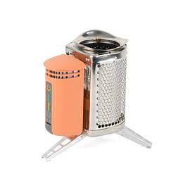 Печь походная универсальная, для обогрева, приготовления пищи и зарядки гаджетов INTERTOOL GS-0050
