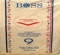 Пакеты фасовочные Boss 18*35 750г. 1000шт.