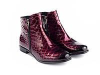 Ботинки Etor 5828-51046-015 38 бордовые, фото 1