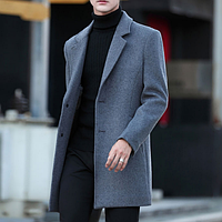 Мужское пальто. Модель 18106, фото 2
