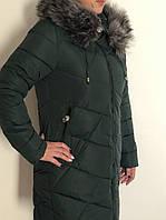 Женская зимняя куртка большие размеры батал