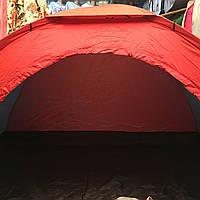 Палатка летняя туристическая двухместная 200х150х110 см, фото 1