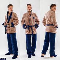 Чоловіча махрова піжама