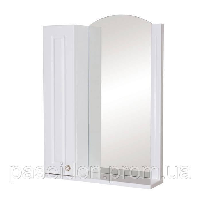 Зеркало АкваРодос «Classic 60» (R) «Белый» / «Итальянский орех»