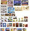 2014 год комплект художественных марок