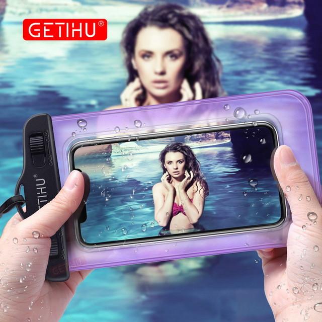 Водонепроницаемый чехол для смартфона GETIHU 2шт
