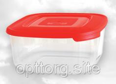 Контейнер для пищи 0,95 л квадратный Консенсус
