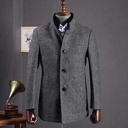 Мужское пальто. Модель 18107