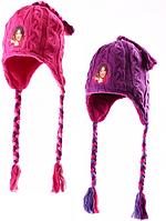 Шапки для девочек (Дисней) оптом, размеры 54-56 см, арт.  770-533