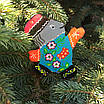 """Новарічна іграшка """"сніговик"""", фото 2"""
