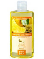 Масло для ухода и массажа Tangerine&Cinnamon+Macadamia oil 150мл Fresh Juice