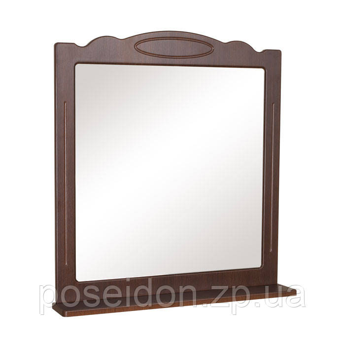 Зеркало АкваРодос «Classic 65» «Белый» / «Итальянский орех»