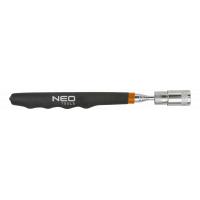 Магнитный захват NEO телескопический. с фонариком  90-800 мм, 3,5 кг (11-611)