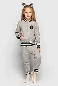 Детский светло-серый костюм ClydeCHS-29