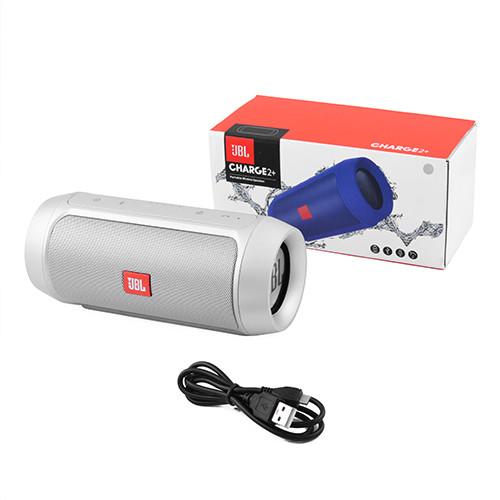 Портативная MP3 Bluetooth колонка акустика JBL Charge 2 Silver