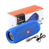 Портативная MP3 Bluetooth колонка акустика JBL Charge 2 Синий