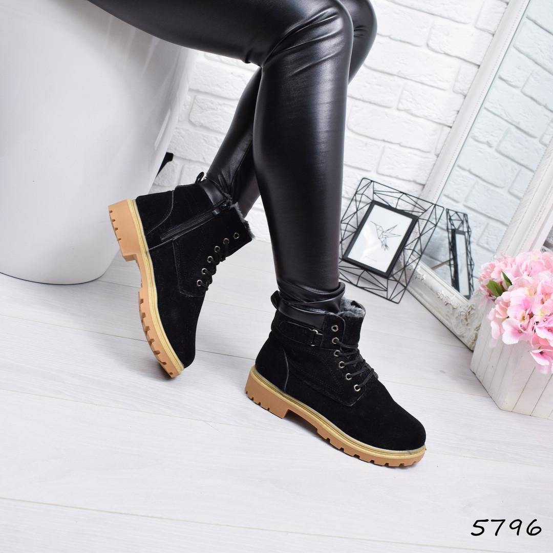 414e1a26b0d0 Купить Ботинок женский Timber чёрный женскую обувь по низкой цене в ...